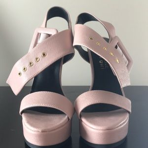 Kendall & Kylie Shoes - Kendall & Kylie Blush Heels